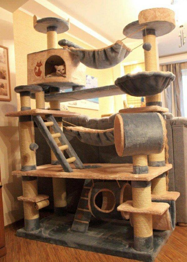 Maison pour chaton - Meuble litiere pour chat ...