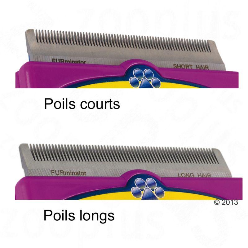 Peigne chat poil long